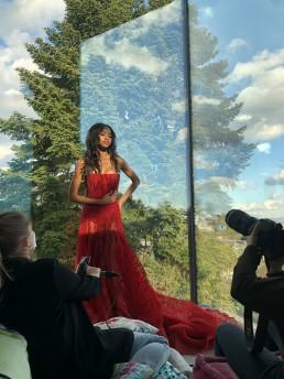 BTS Anne Barreto Tony Ward Couture Haute Couture Paris Glasshouse Maka Fashion Stylist Anna Zesiger Martina Brunner Fashion Editorial