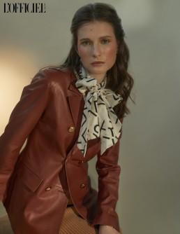 L´Officiel Fashion Styling Maka Fashionstylist Bally Switzerland Karl Lagerfeld Ilse Jacobsen Designs Fashion Editorial